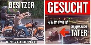 Diebstahl Hamburg Harley Days - Gestohlene Harley Davidson