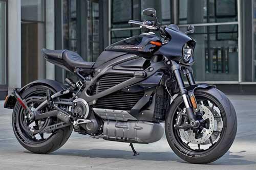 Zeigt das neue E-Bike LiveWire von Harley-DAvidson