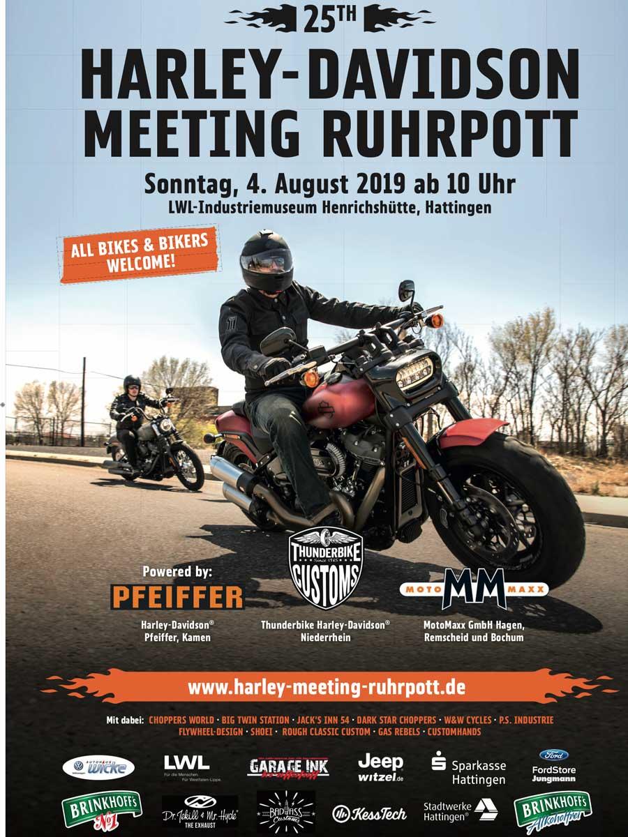 HARLEY-DAVIDSON MEETING RUHRPOTT 2019