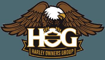 Logo der Harley Davidson HOG