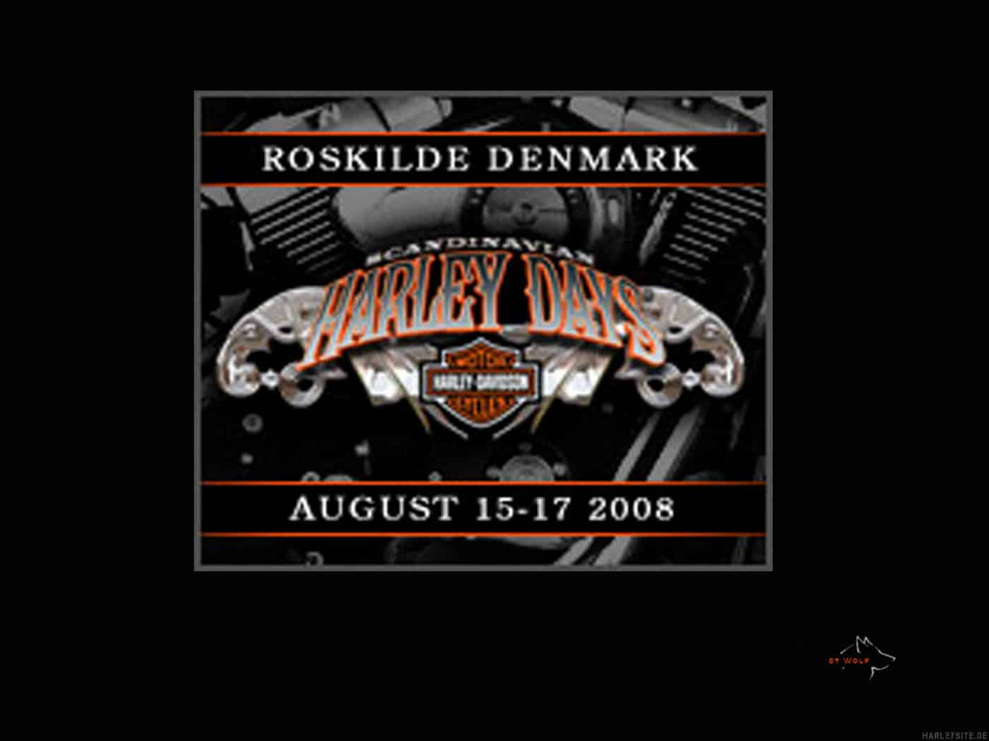 Scandinavian Harley Days 2008