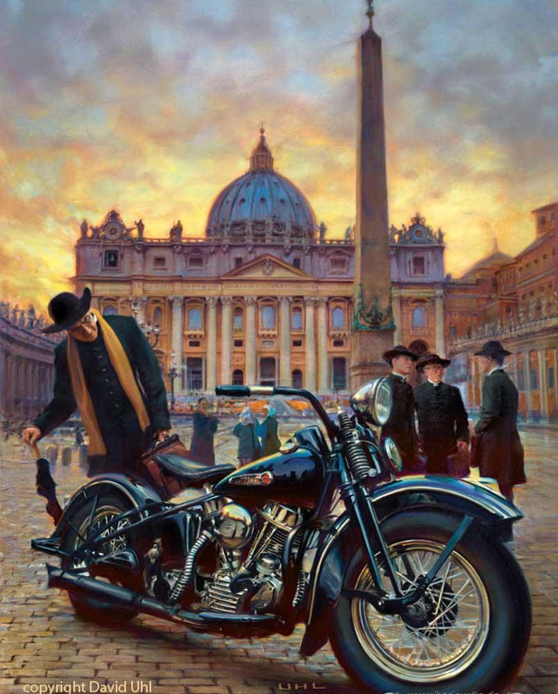 David Uhl Bild zum 110-jährigen Harley Jubiläum in Rom