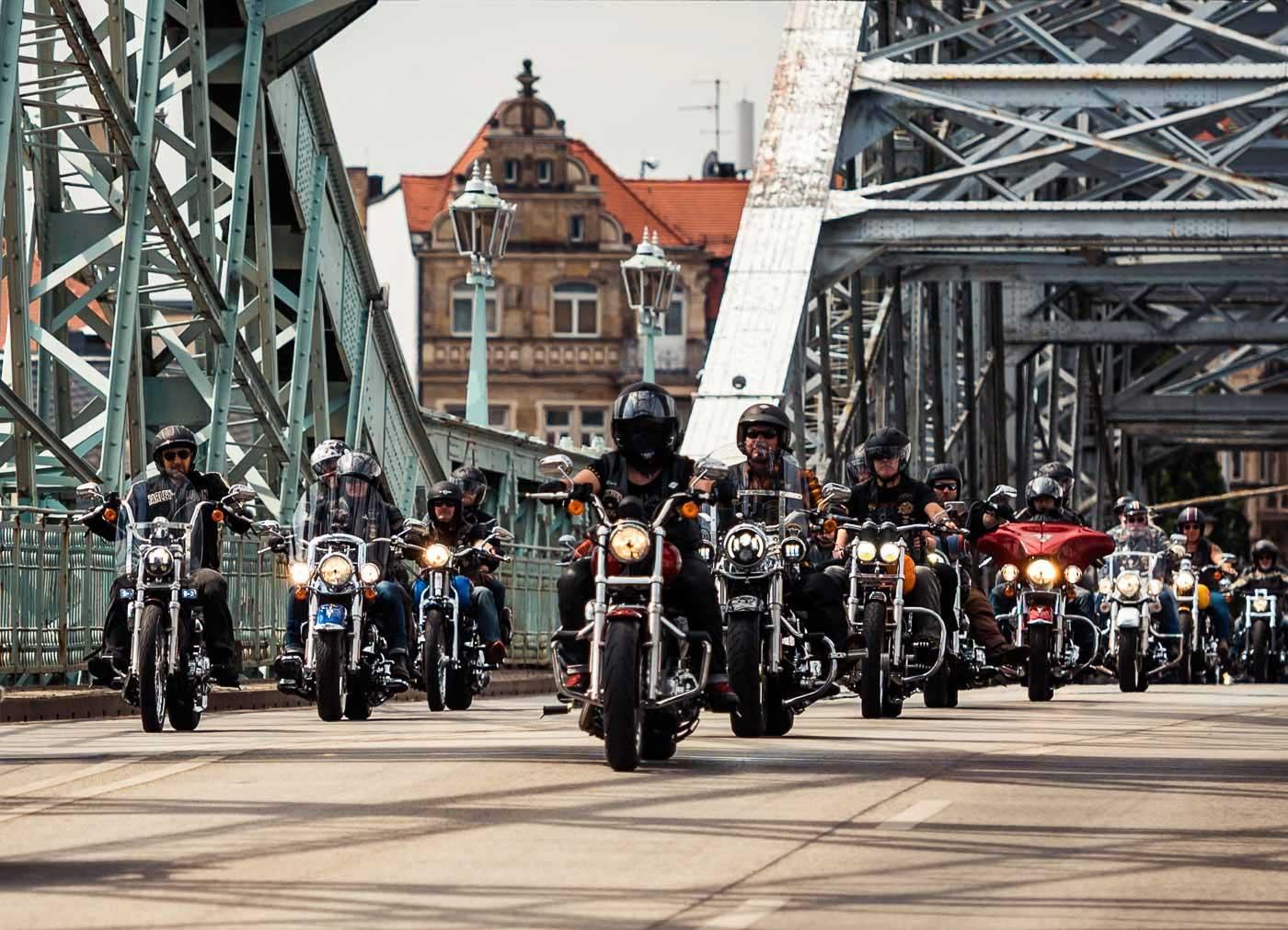 Vom 26. bis zum 28. Juli rockten die Harley Days Dresden