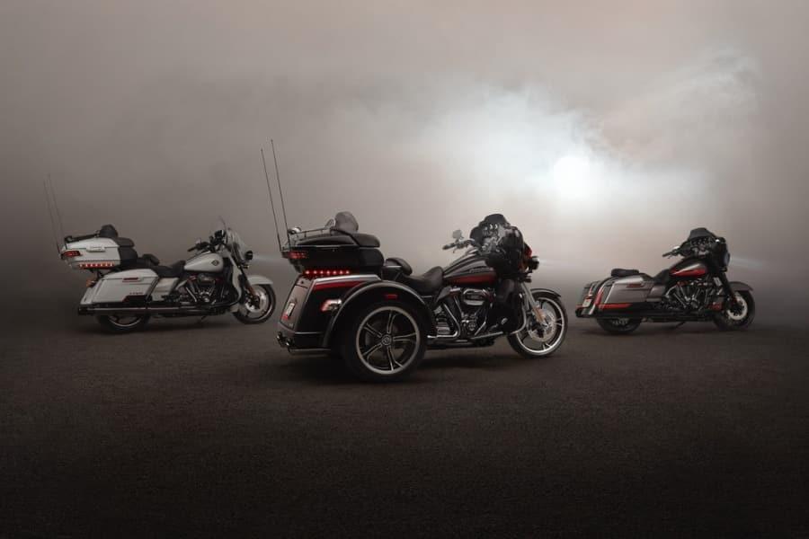 Die CVO Familie 2020 mit den modellgepflegten Typen CVO Limited und CVO Street Glide