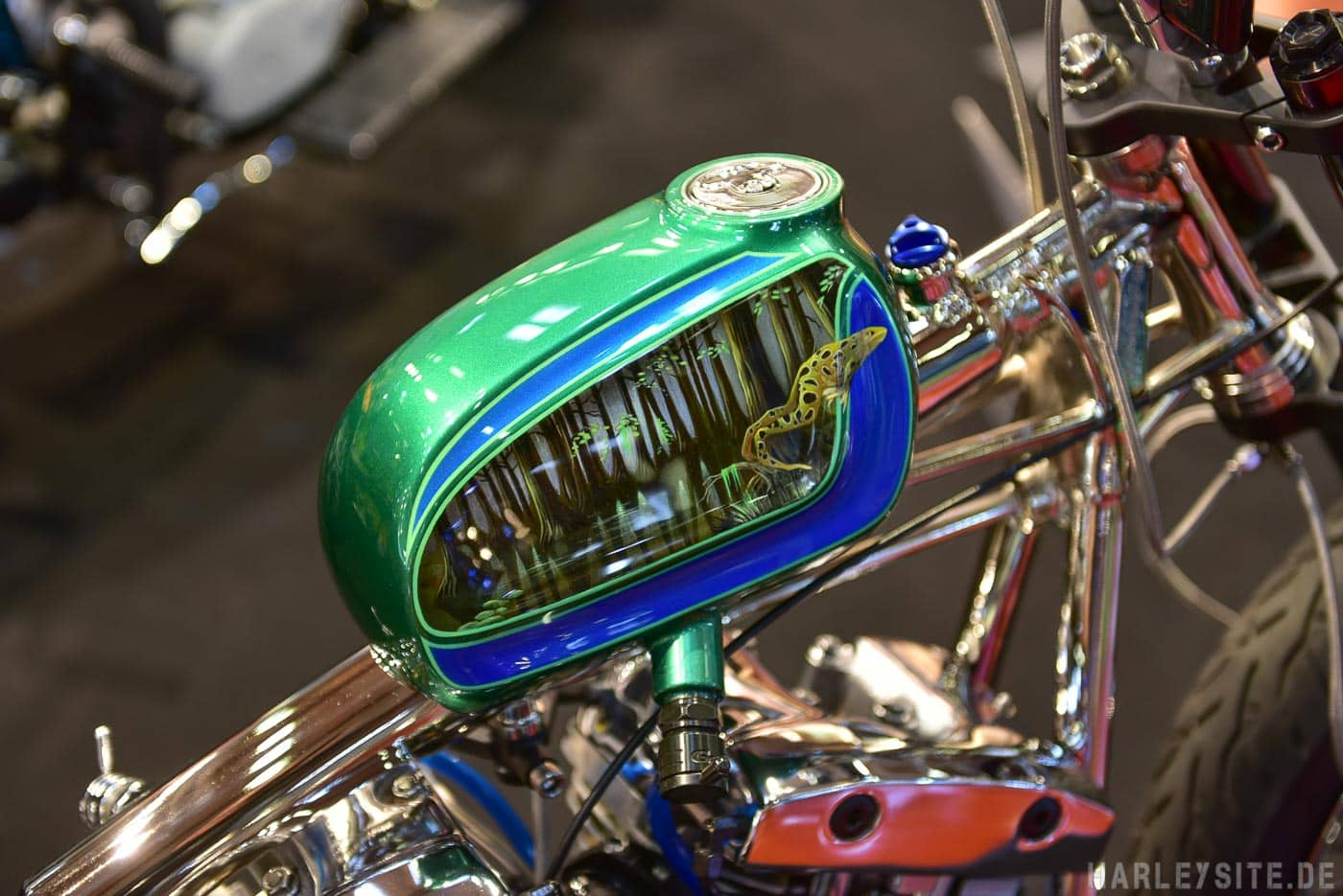 Custombike Tank auf der Custombike Show