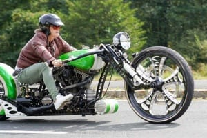 Custombike auf der European Bike Week