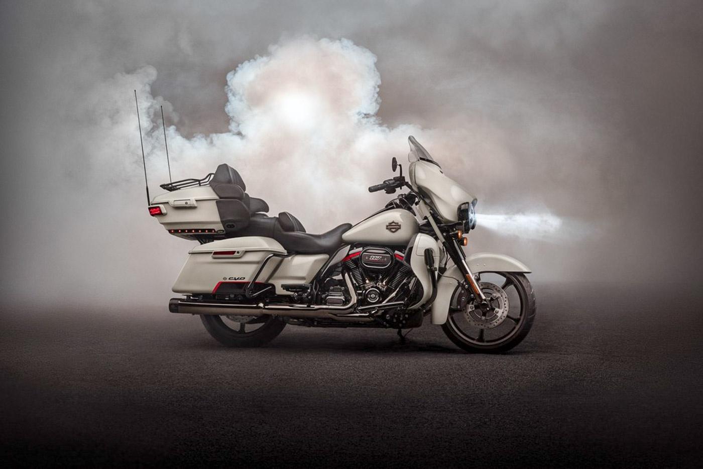 Zeigt die Harley-Davidson CVO Limited Modelljahr 2020