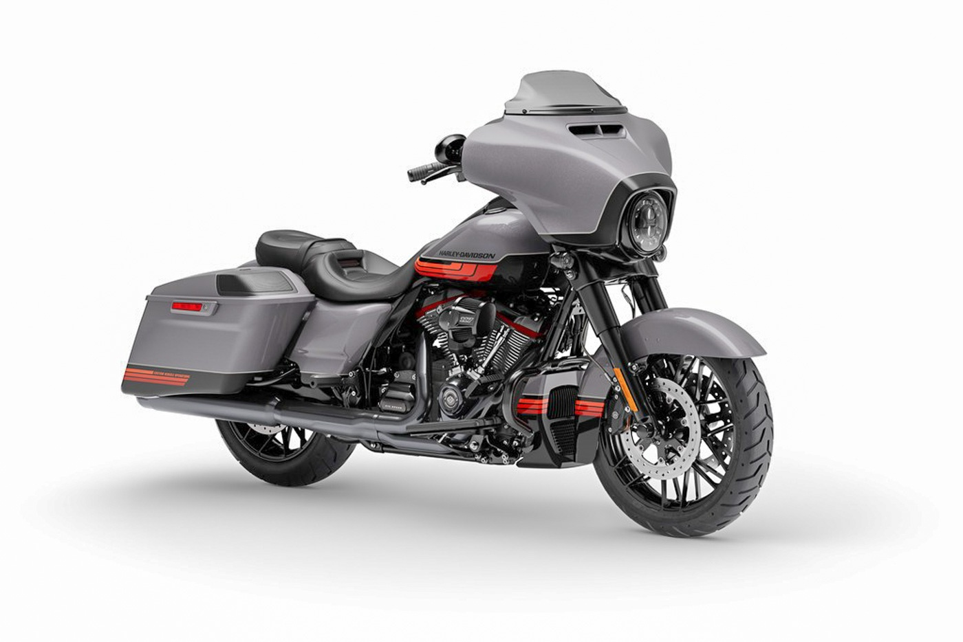 Zeigt die Harley-Davidson CVO Street Glide Modelljahr 2020