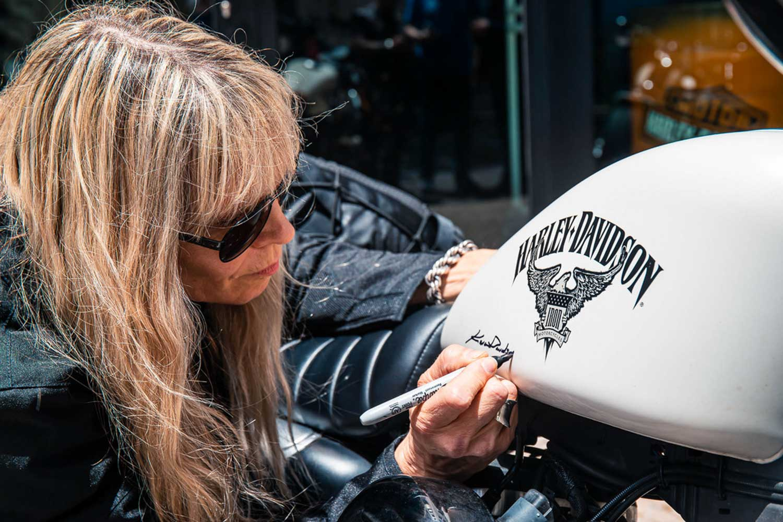 Harley-Davidson Enkelin