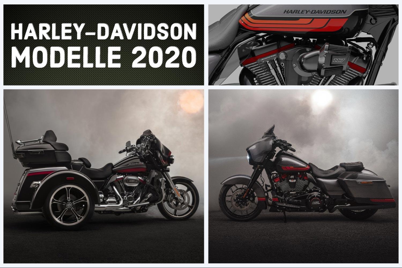 FÜR DAS JAHR 2020 PRÄSENTIERT HARLEY-DAVIDSON NEUE MODELLE UND NEUE TECHNOLOGIEN
