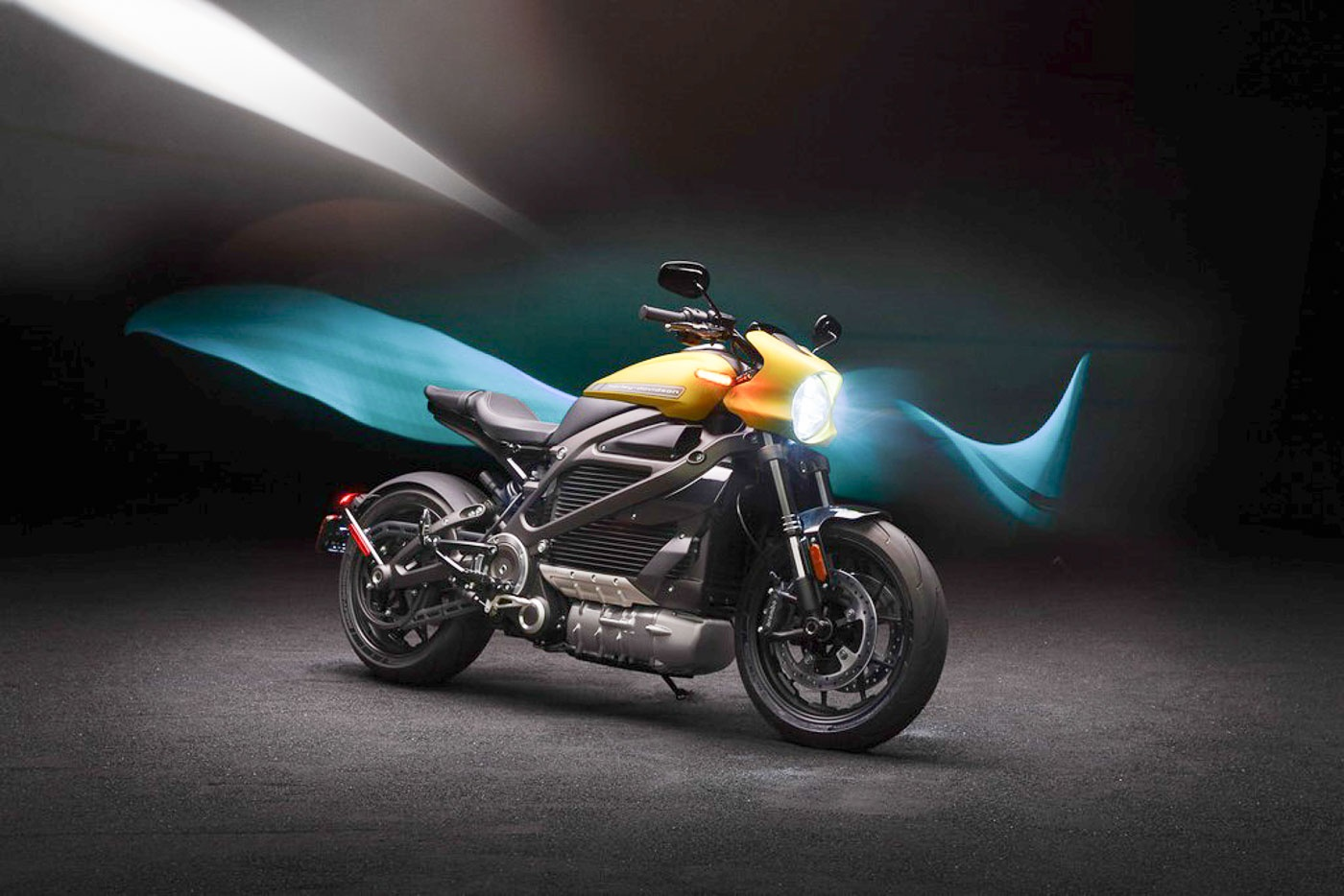 Neue Harley-Davidson Technologien - LiveWire 2020