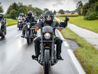 DIE EUROPEAN BIKE WEEK BEGRÜSST  MEHR ALS 120.000 MOTORRADFANS AM FAAKER SEE IN KÄRNTEN