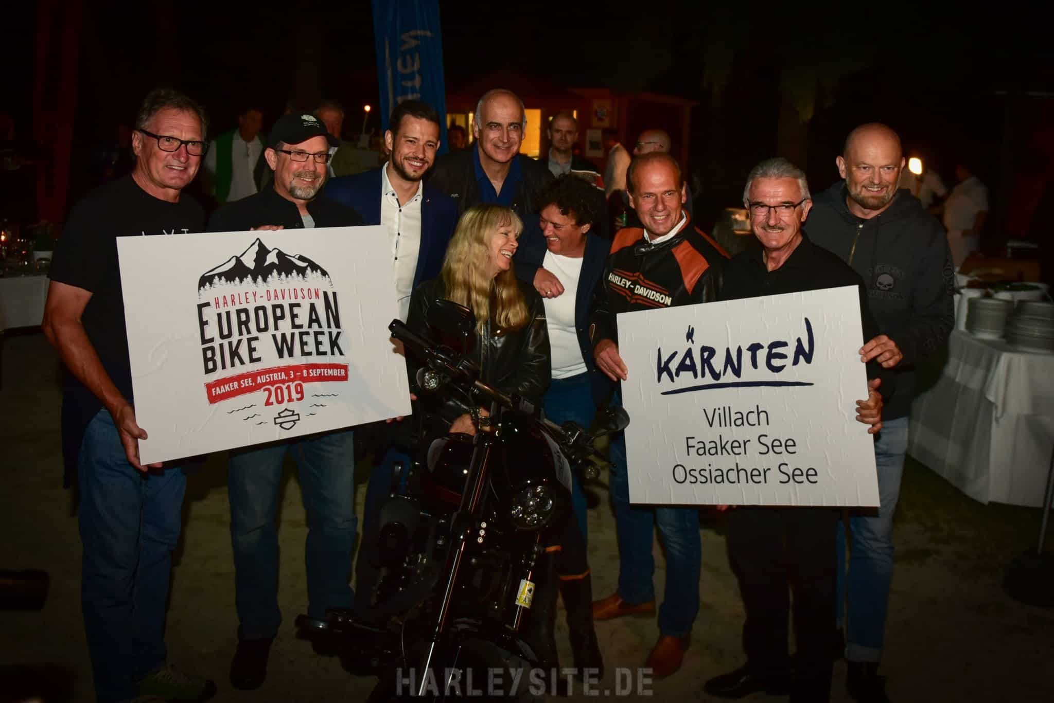 Die European Bike Week 2019 läuft