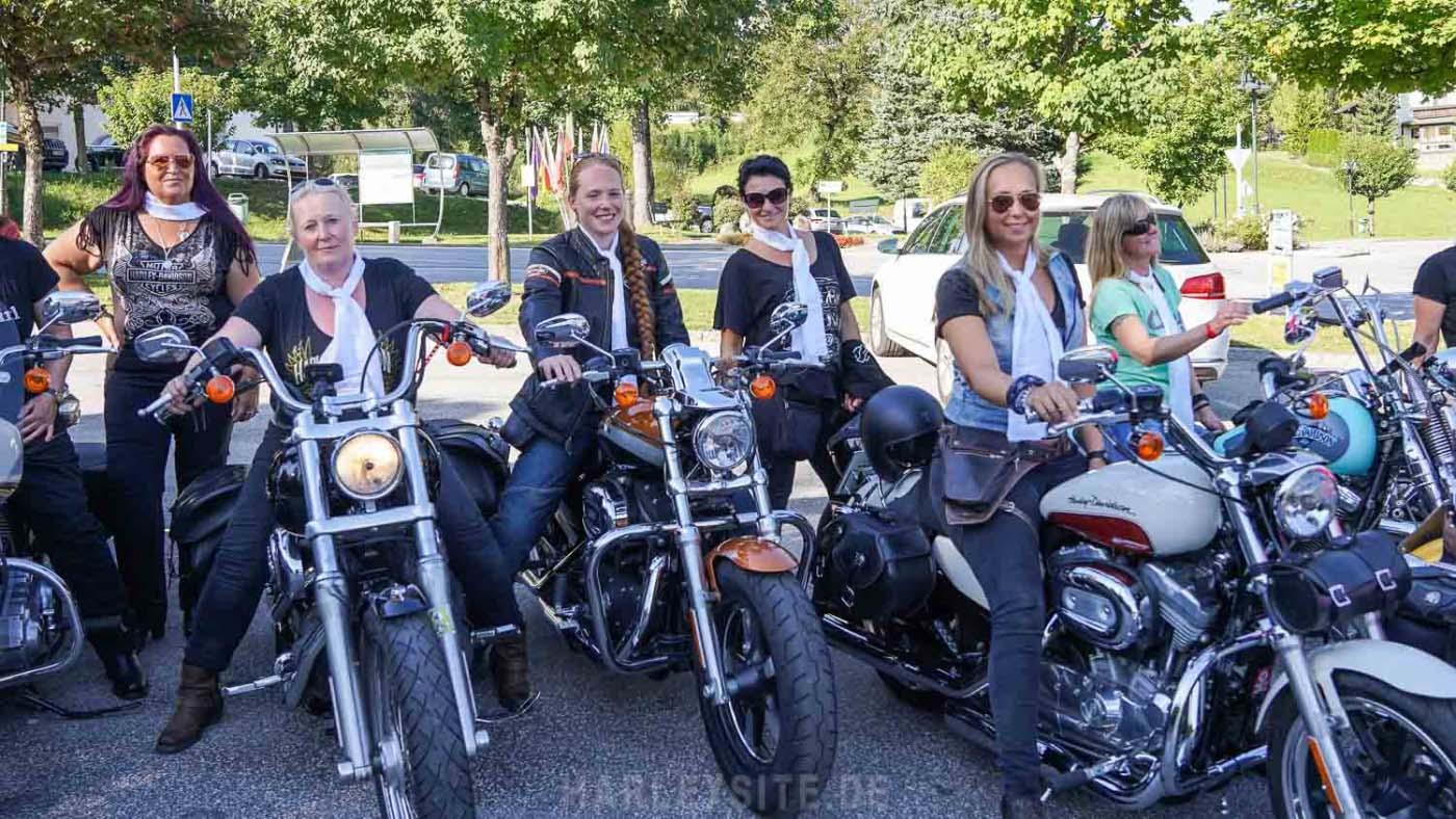 Harley Girls Europa am Faaker See