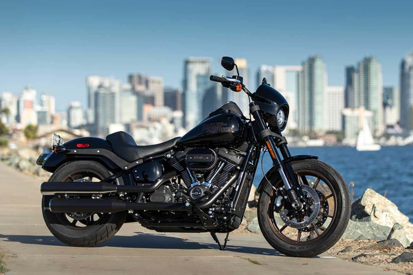 Zeigt die neue Harley-Davidson Low Rider S 2020