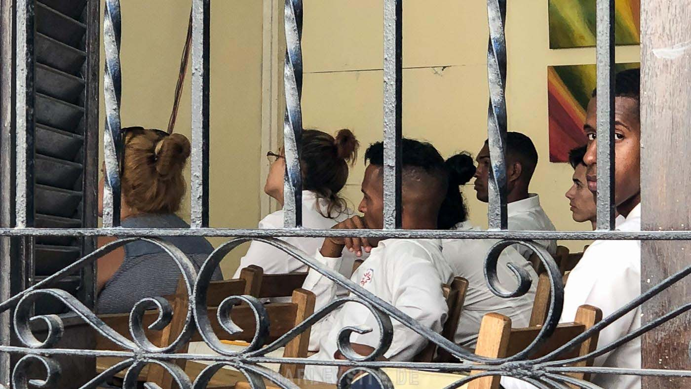 Eine kleine Schule in Havanna