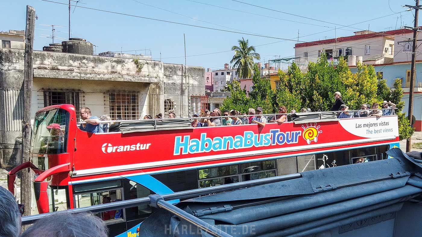 HOP ON-OFF TOUR Bus Tour in Havanna