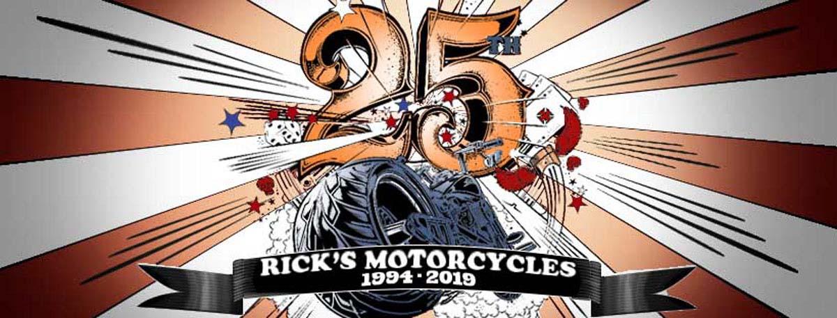 Ricks Motorcycles 25 Jahre