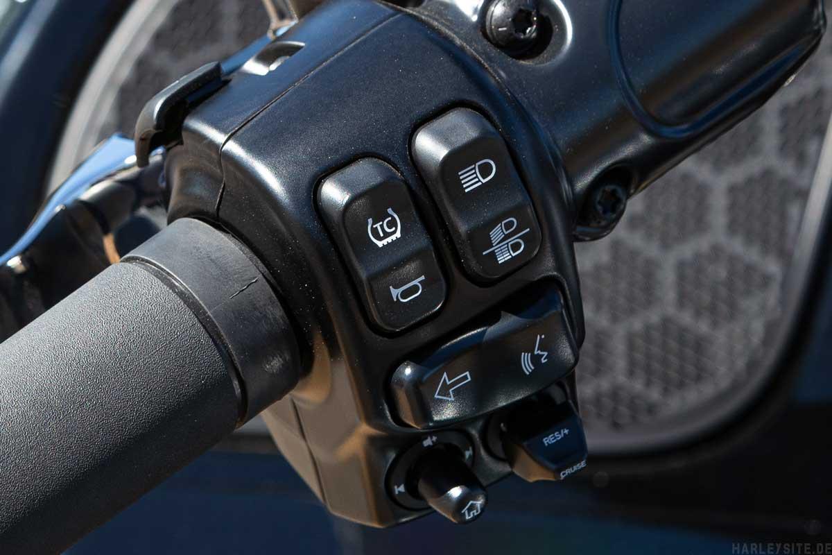 Harley-Davidson Traktionskontrolle TCS
