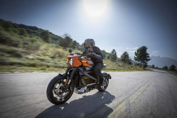 Harley-Davidson LiveWire on the Road 2020