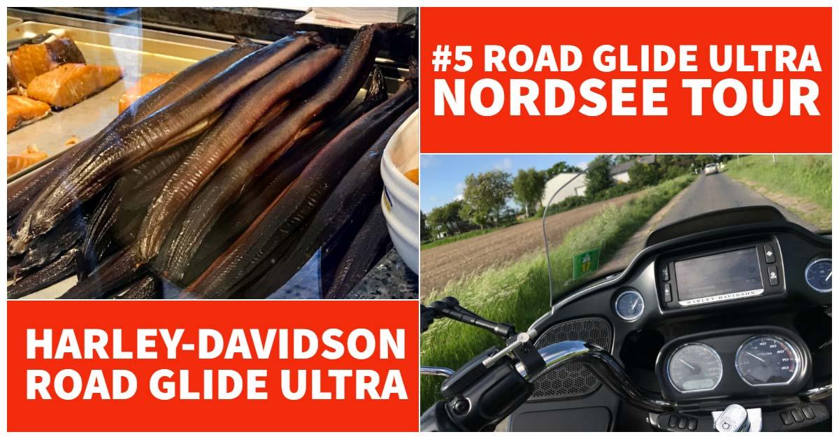 Harley-Davidson Road Glide Ultra Tour zum Eiderspeerwerk