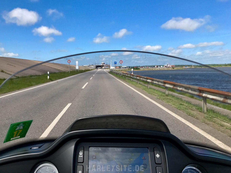 Das Eidertal Sperrwerk ist die Schleuse vom Nord Ostseekanal