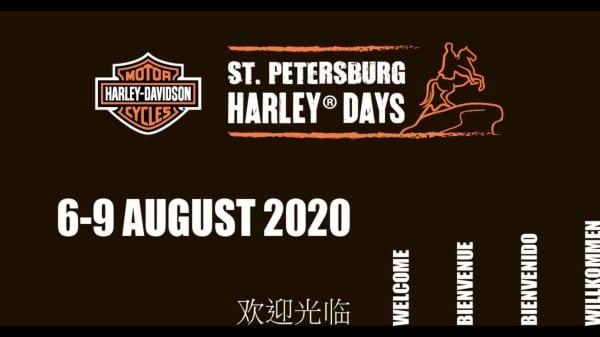 Sankt Petersburg Harley Days 2020