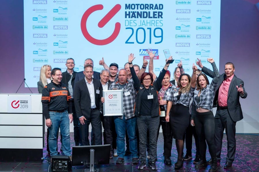 """Harley-Davidson ist die """"Best Brand 2019"""" in Deutschland"""