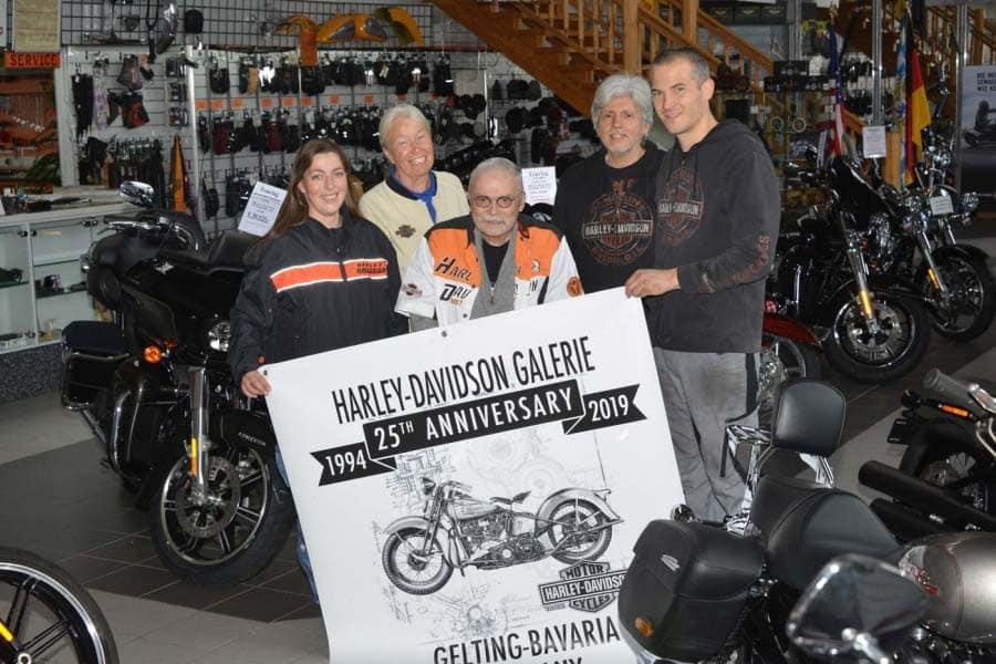 Die Harley-Davidson Galerie in Gelting schließt