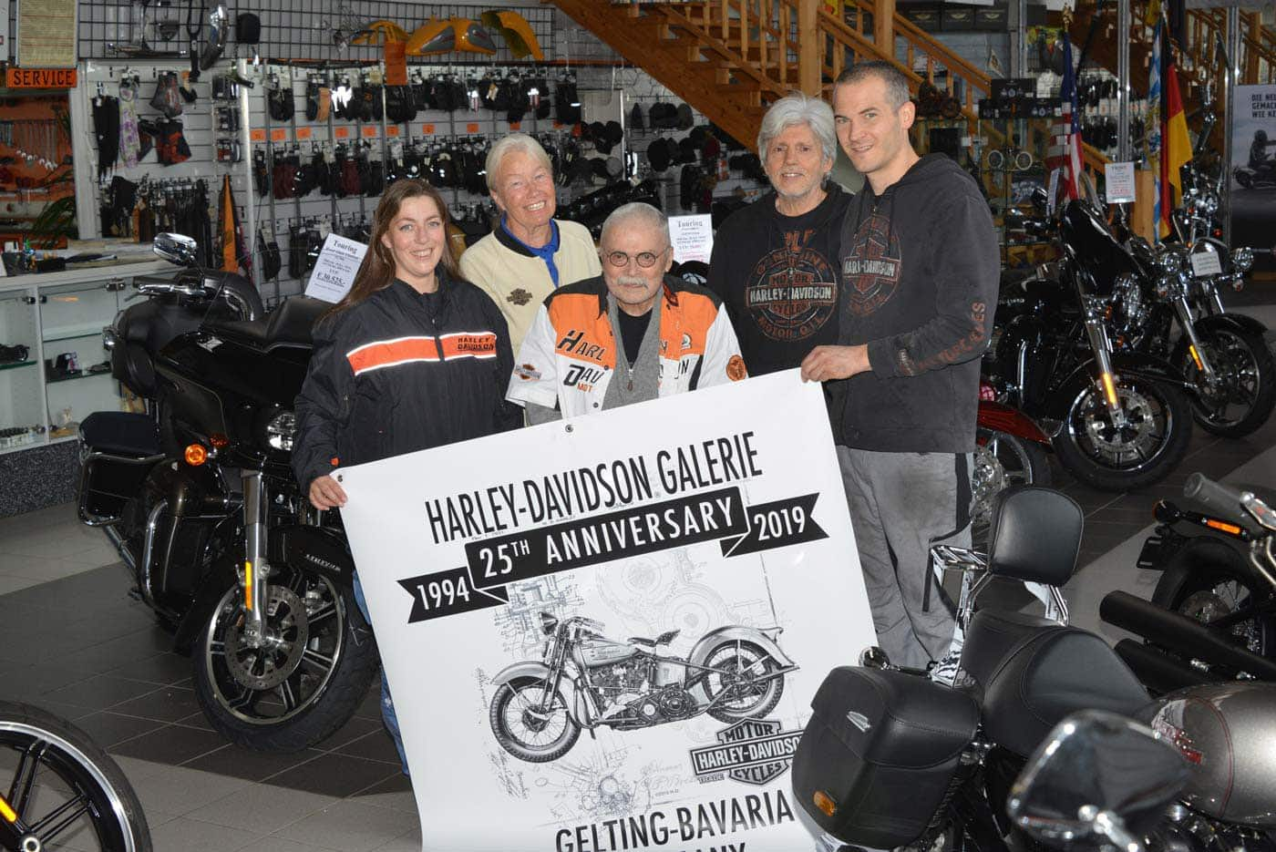 Harley-Davidson Galerie in Gelting