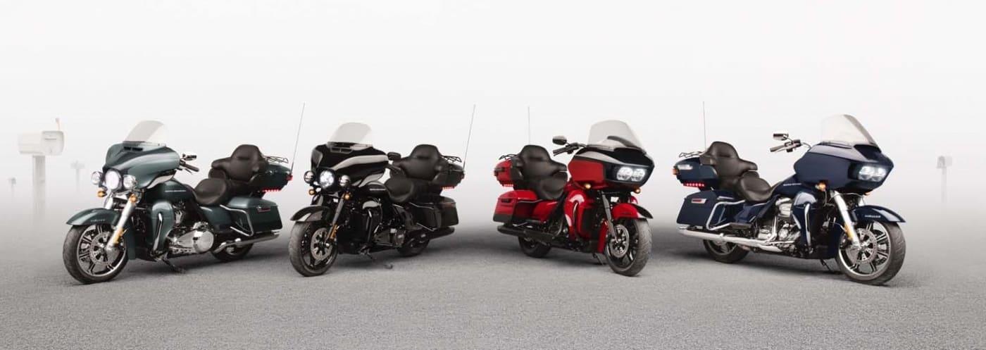 2020 Harley-Davidson Touring Modelle