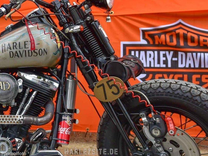 Aufmerksame Zeugin verhindert Harley-Diebstahl