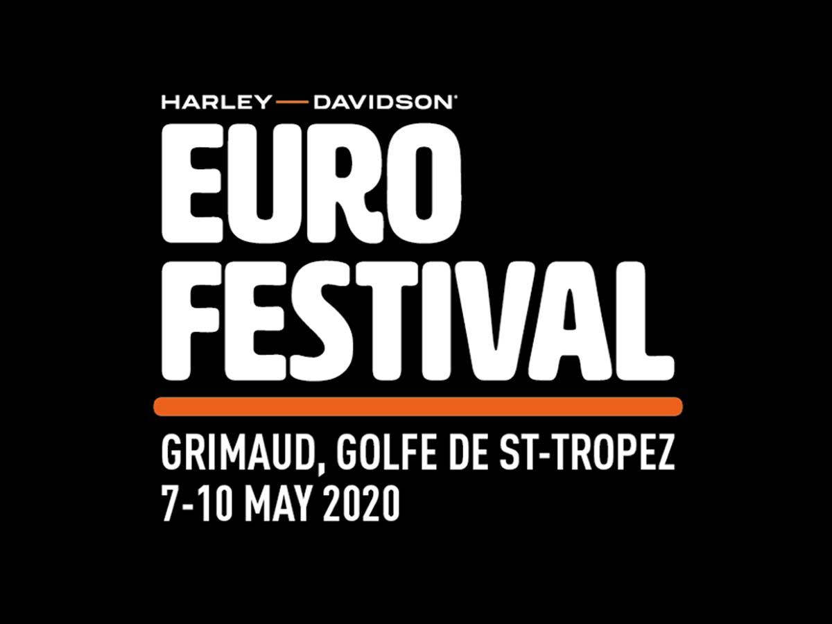 Logo vom Harley-Davidson Euro Festival St Tropez 2020