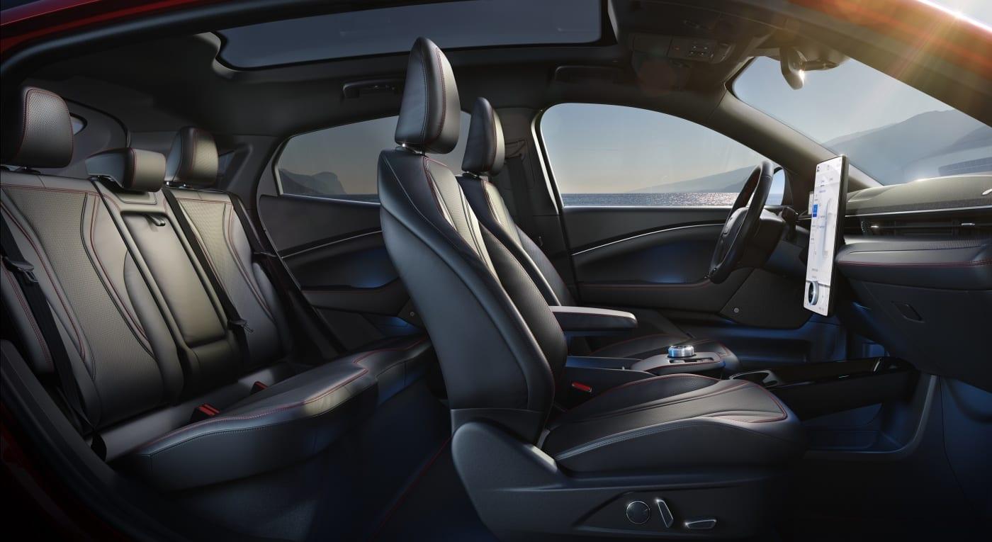 Ford Mustang Mach-E Innenraum Ansicht