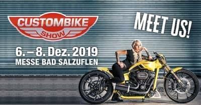 CUSTOMBIKE-SHOW 2019 in Bad Salzuflen