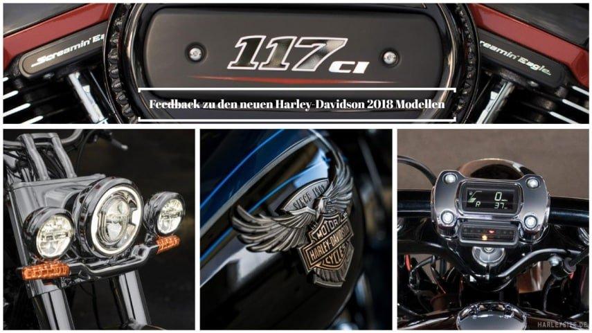 Die Harley Davidson Modelle Neuheiten 2018