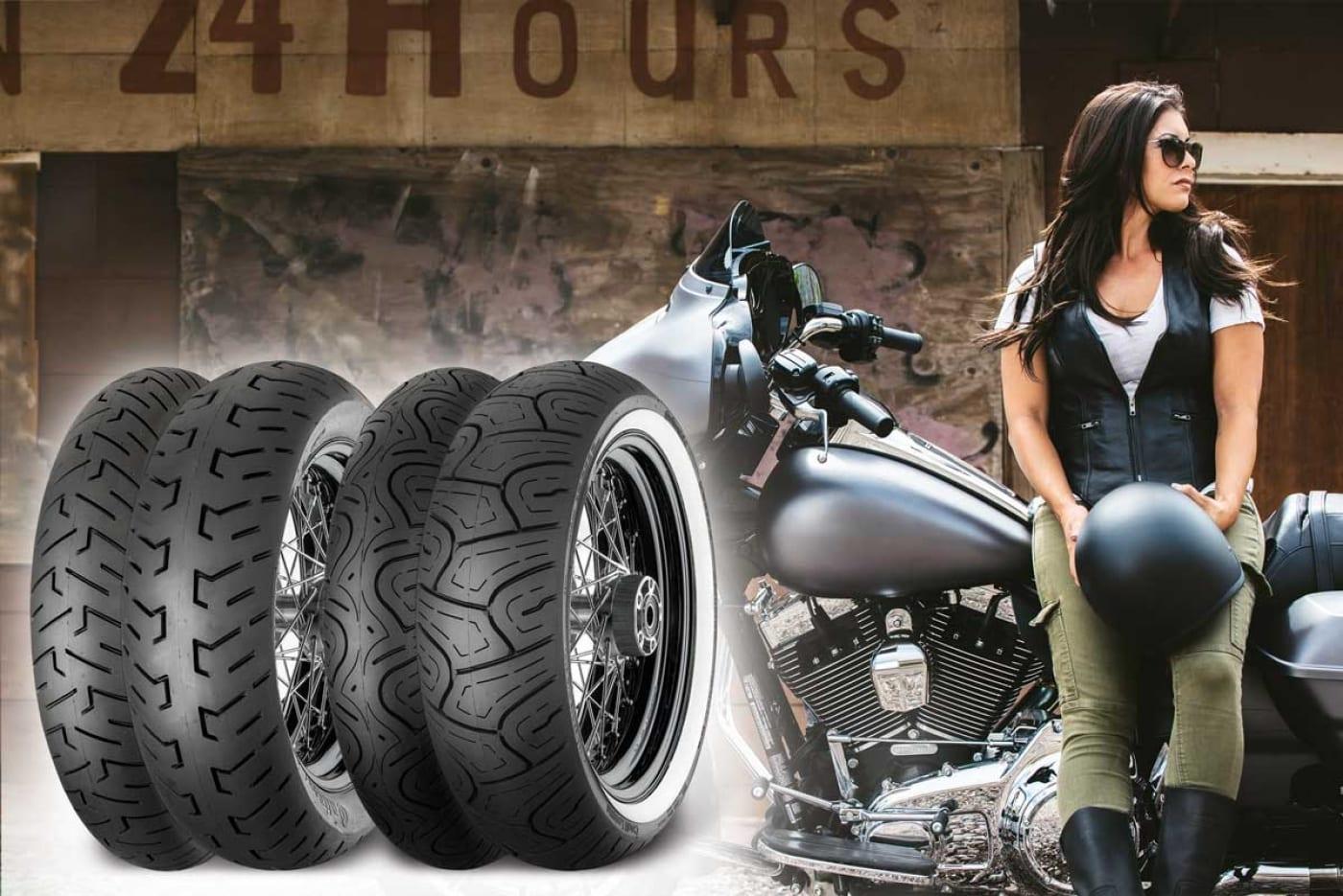 Harley-Davidson steht auf Continental
