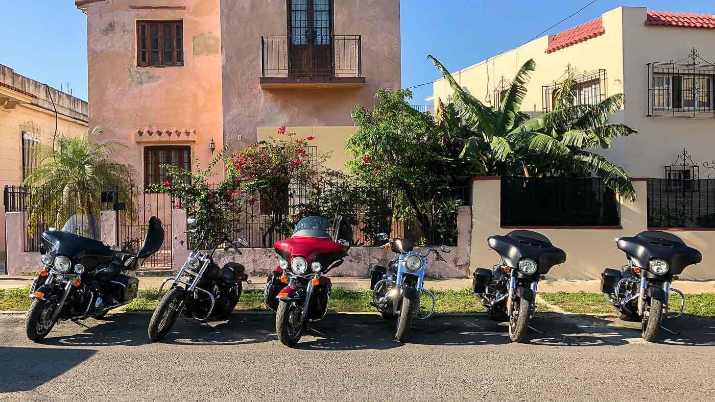 2021 mit Ernesto Guevara auf Kuba Harley fahren 1