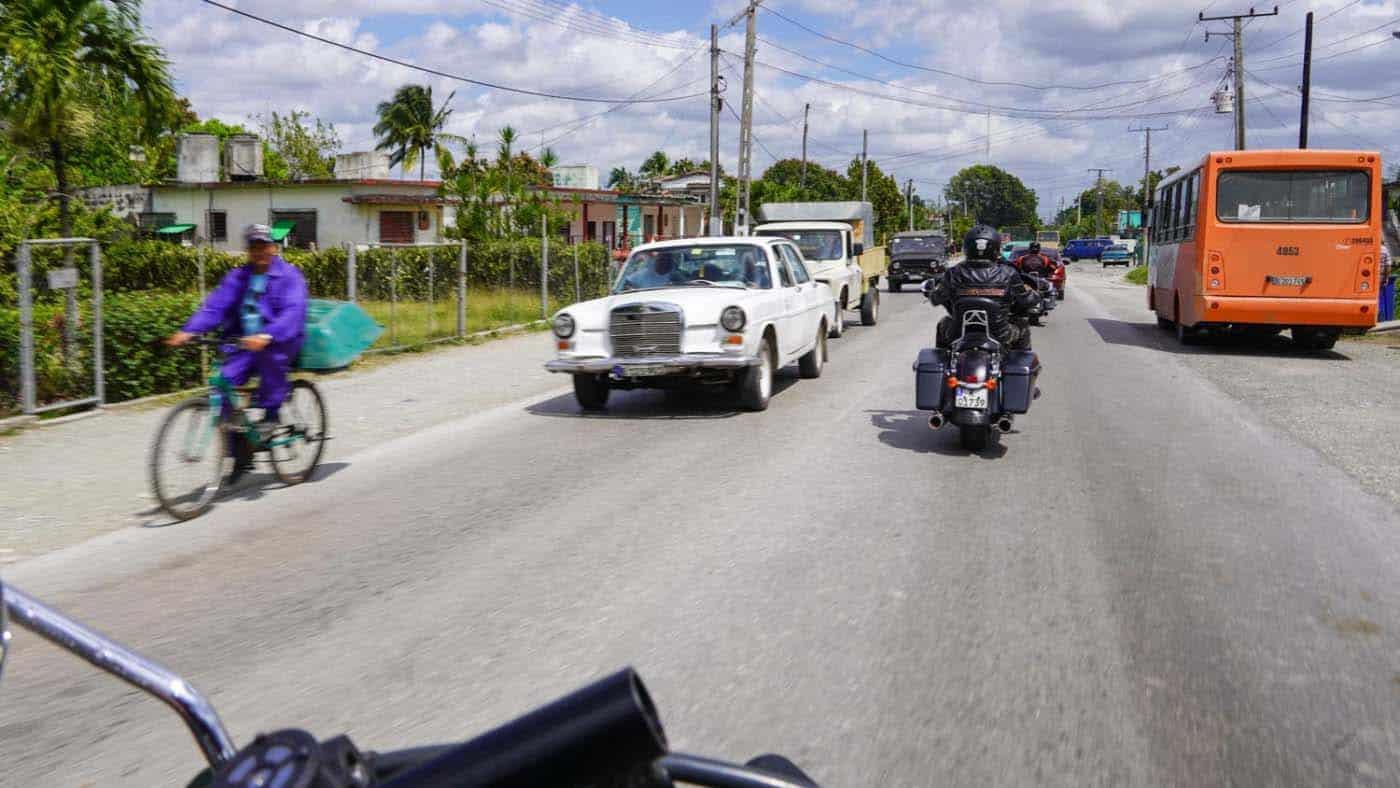 Die Straßen auf Kuba