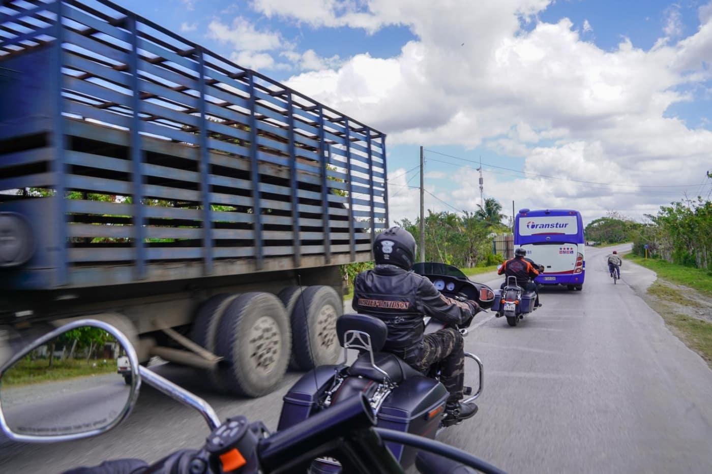 Mit der Harley auf Kuba unterwegs