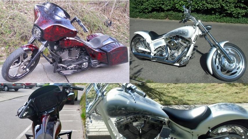 Harley Davidson Diebstahl In Hamburg Harburg