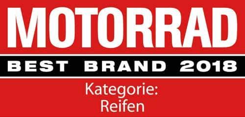 Metzeler Motorrad Best Brand 2018