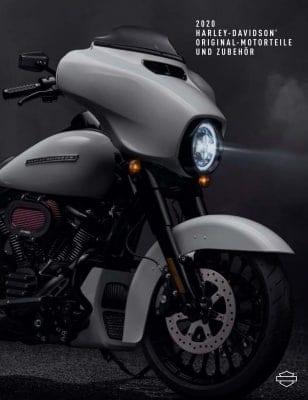 Cover Harley-Davidson Katalog 2020