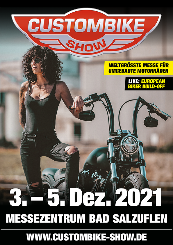 Plakat Custombike-Show 2021