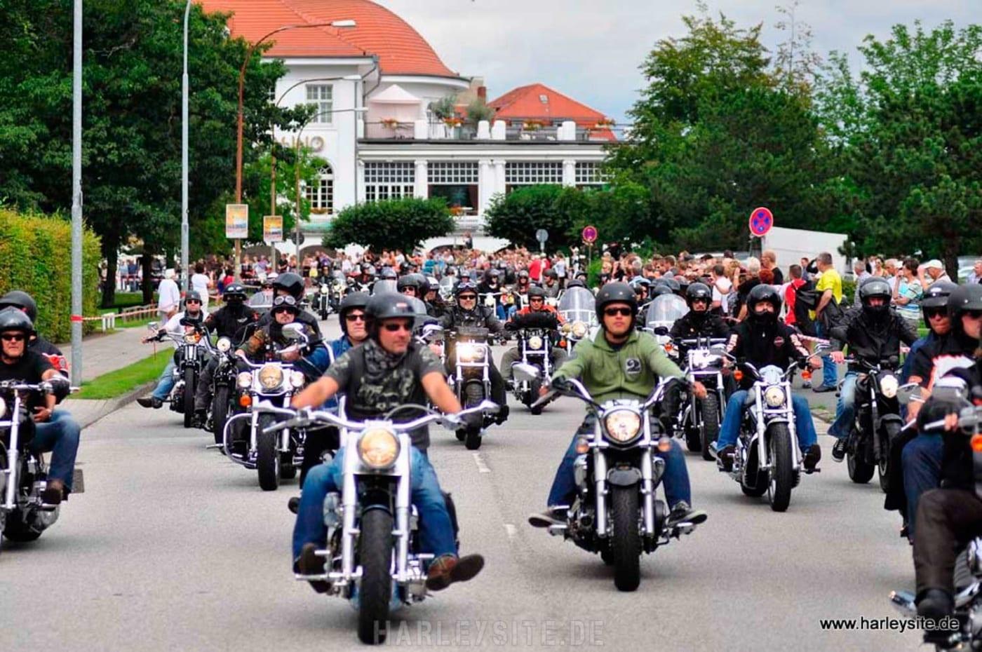 Harley-Davidson Parade in Travemünde