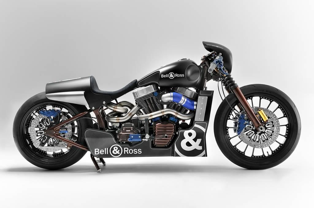 Harley-Davidson baut mit Bell & Ross ein Einzelstück