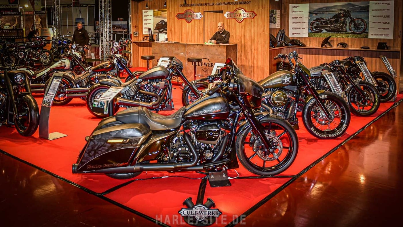 CULT-WERK auf der Custombike Show in Bad Salzuflen
