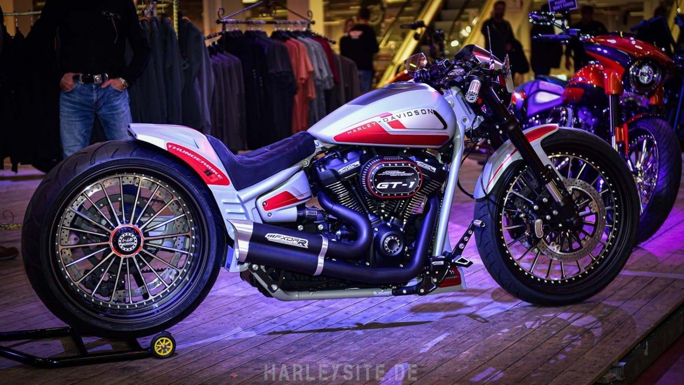 Thunderbike Custombike auf der Custombike Show in Bad Salzuflen