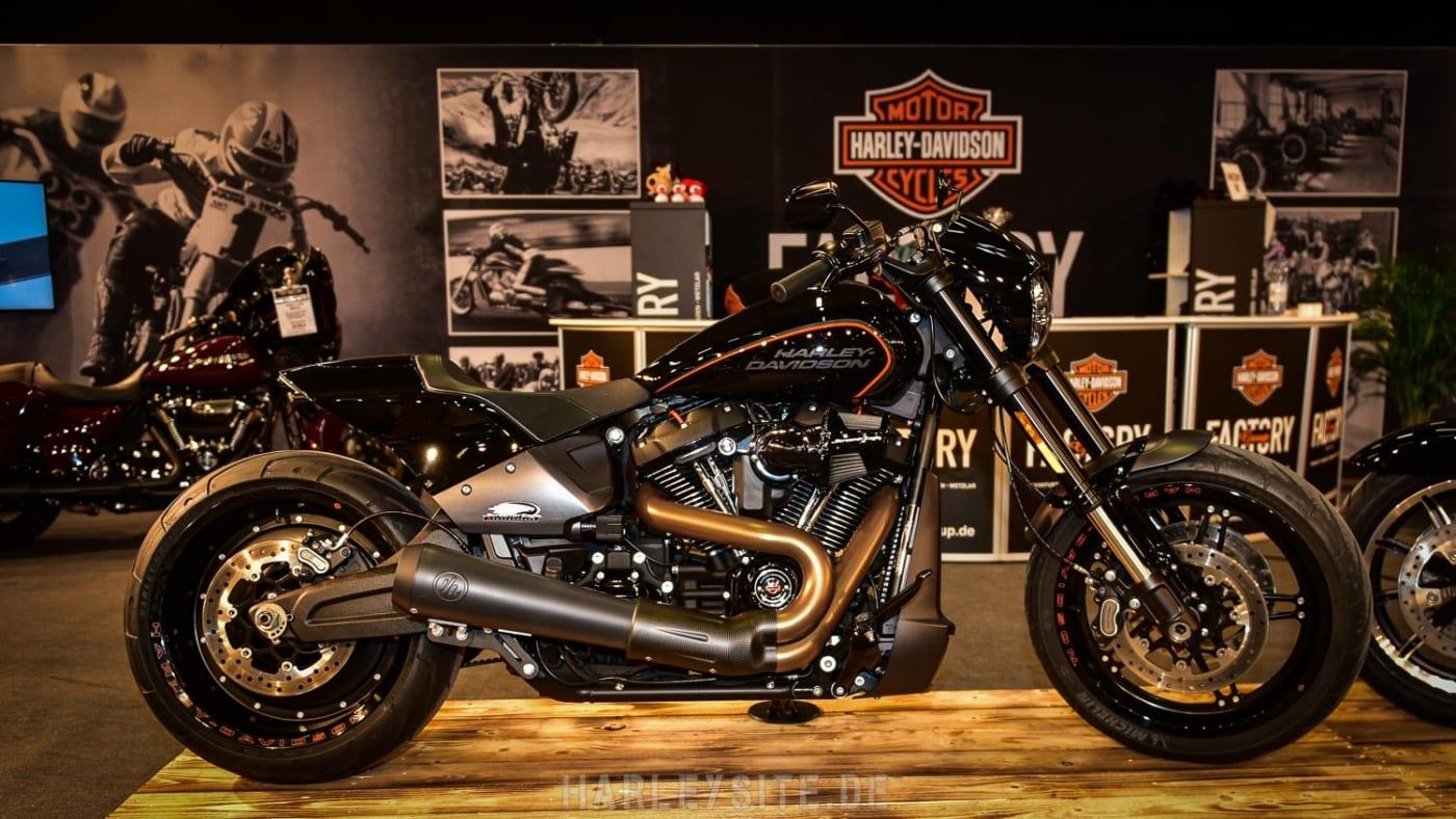 HArley-DAvidson auf der Custombike Show 2019