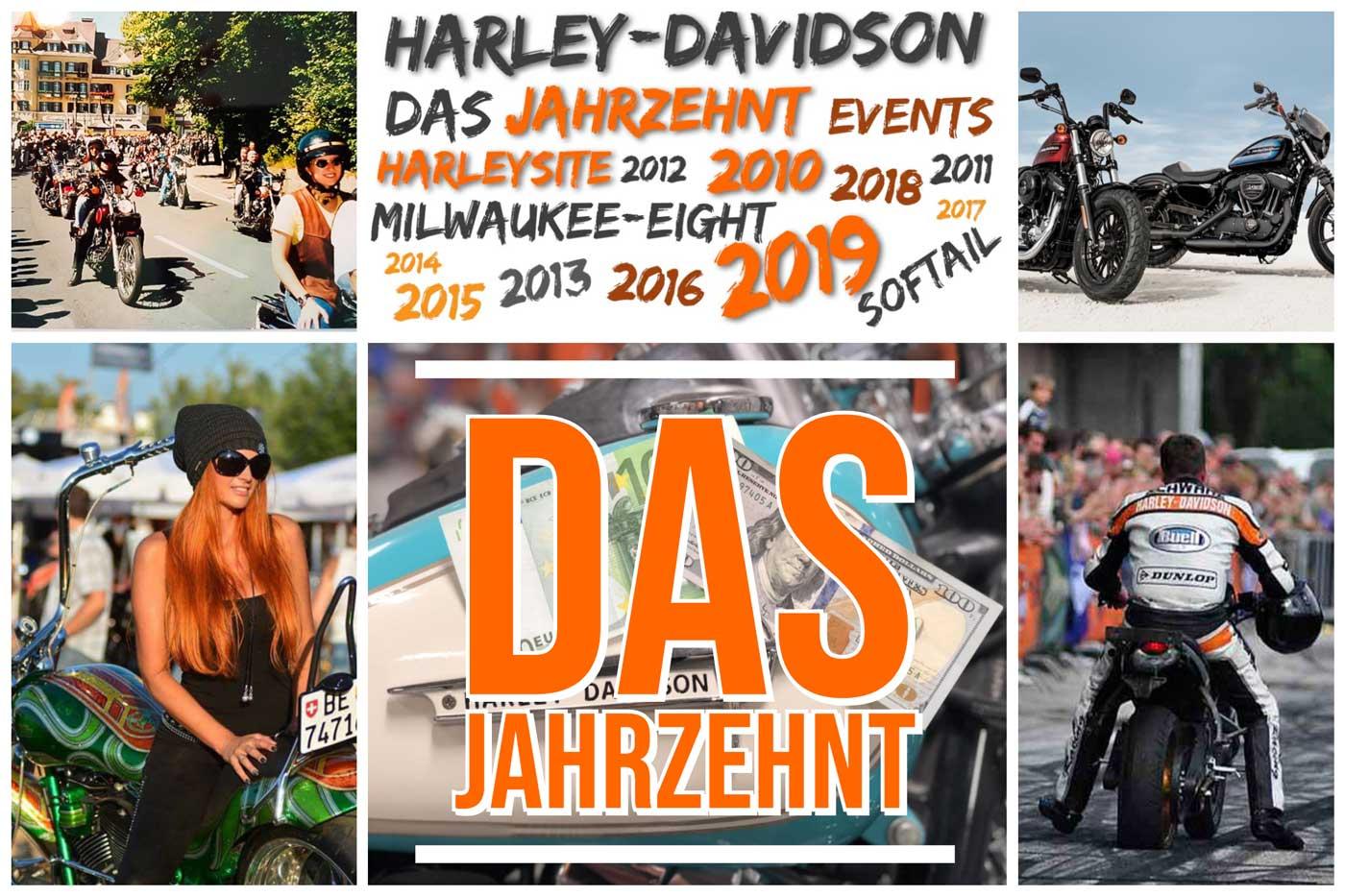 Harleysite - Das Jahrzehnt 2010 bis 2019